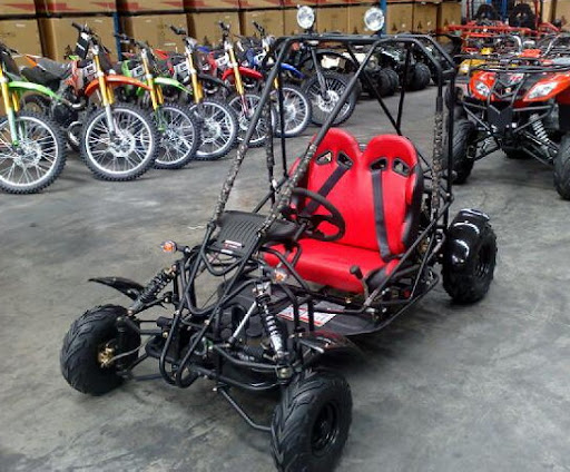 125cc Kids Junior Twin Seater Dune Buggy