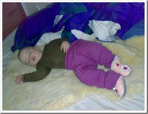 Rikke sover