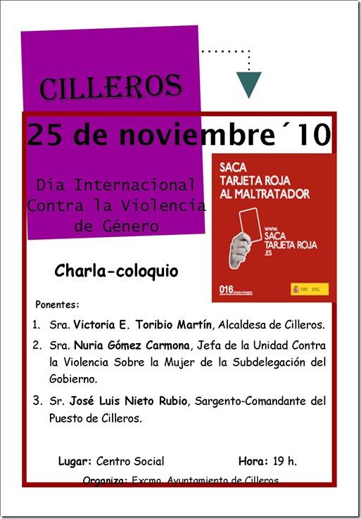 Cartel 25 Nov.