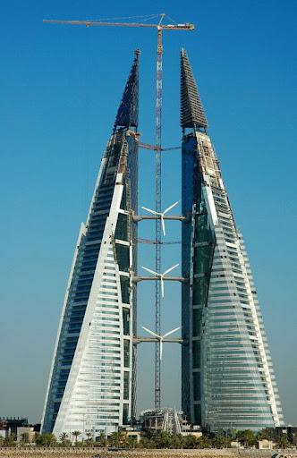 Rüzgar Türbinli Kule
