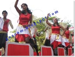 carnival tableau in Goa