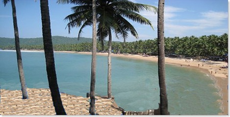 PALOLEM beach view