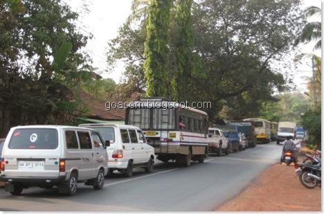 Goa traffic
