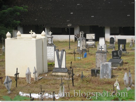 Goa burial ground