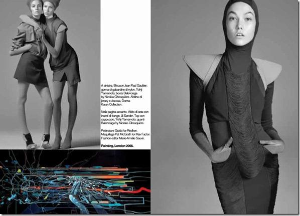 2009 Vogue Italia 'Evolution'
