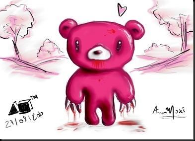 Gloomy Bear a4