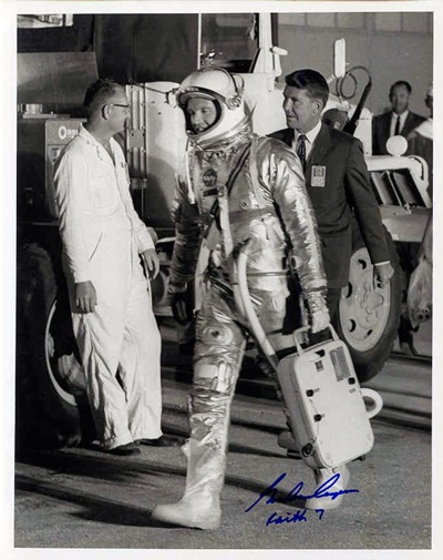 cooper walking with wally Nasa