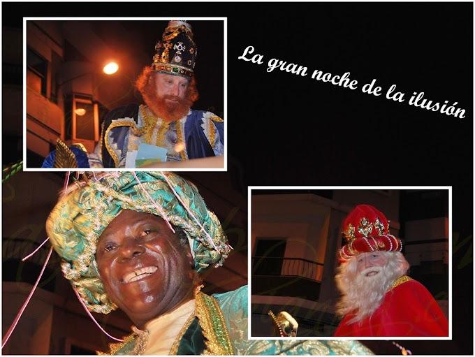 Cabalgata de los Reyes Magos en Las Palmas de Gran Canaria