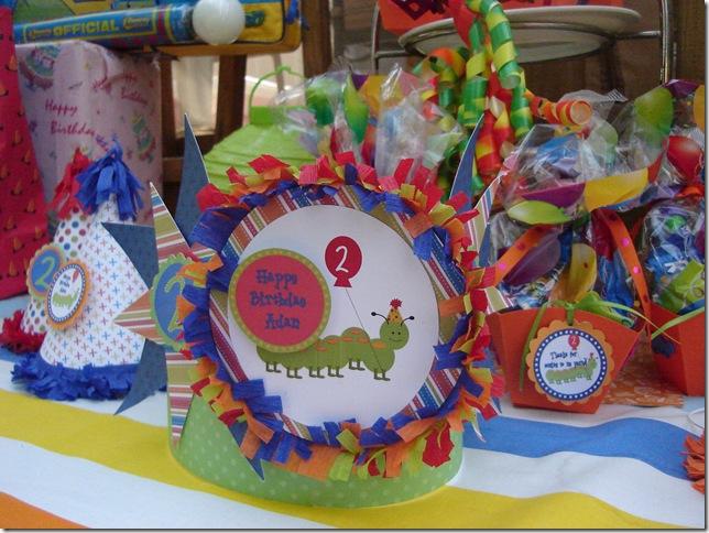 caterpillar party 004