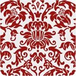 red damask