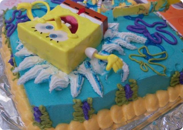 Sponge Bob Splash Cake 2