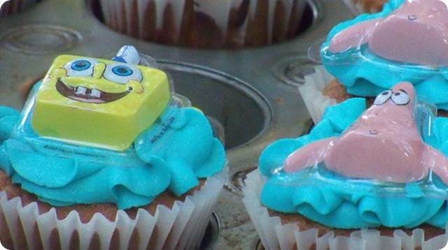Sponge Bob Splash Cake 3
