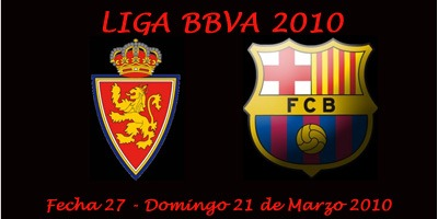 Barcelona vs Real Zaragoza