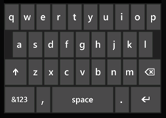 Default keyboard