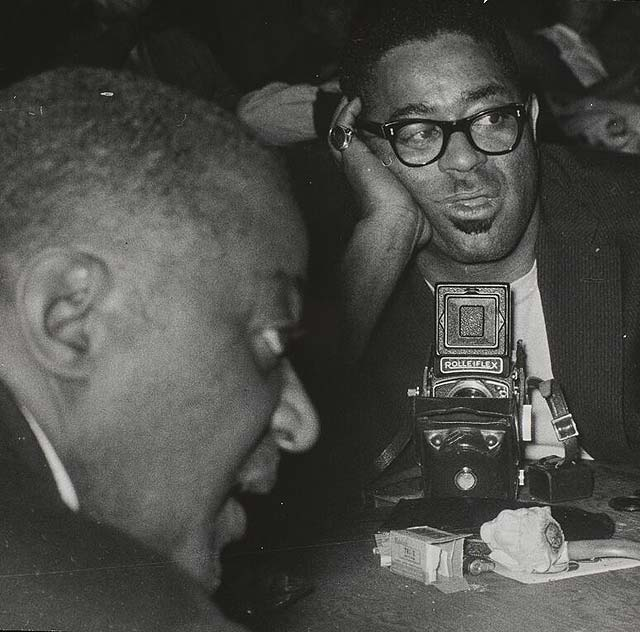 Lisette Model - Dizzy Gillespie and Ted Wilson c. 1954.jpg