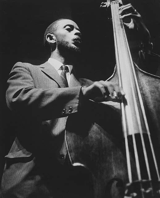Percy Heath, New York Jazz Festival, Downing Stadium, Randall's Island (1956 - 1961 ) © Lisette Model Foundation, Inc.jpg