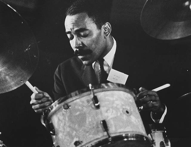 Art Taylor, Newport Jazz Festival, Rhode Island (1956).jpeg