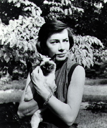 Patricia Highsmith with