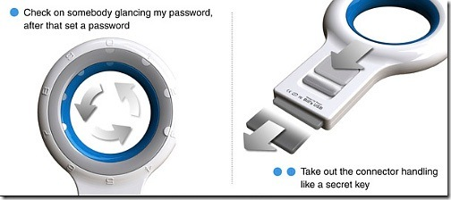 Secure USB memory stick 3