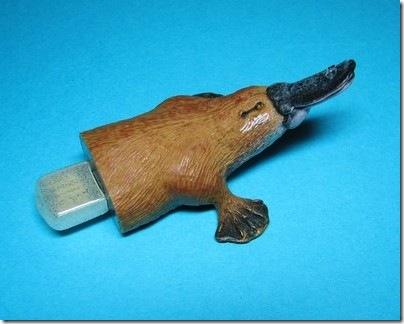 Hemingway funs Duck Billed Platypus USB Flash Drive USB flash drive 2