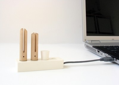 A set to making USB flash drive
