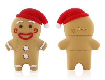 The Gingerbread man USB flash drive