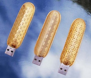 The Luxury USB flash drive