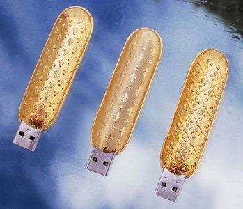 The Luxury USB flash drive