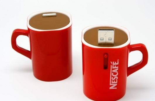 Nescafe USB flash drive