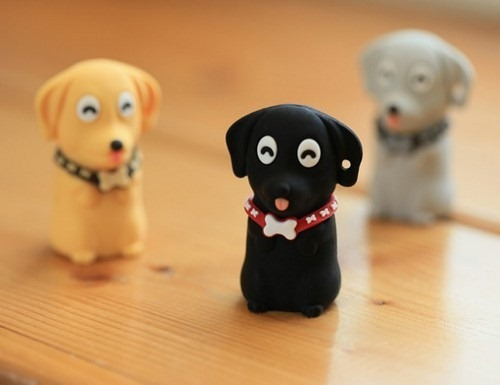 Dog USB flash drive