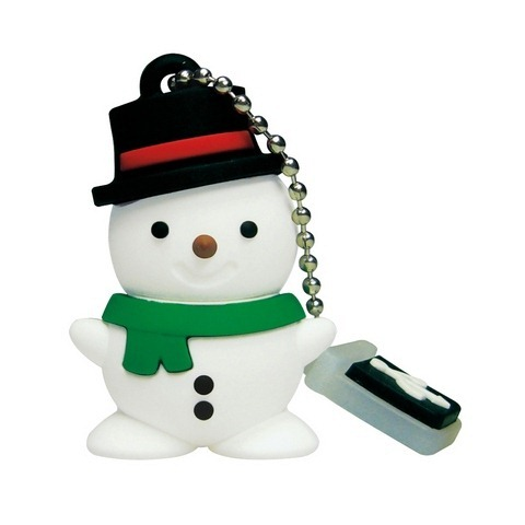 Snowman USB flash drive