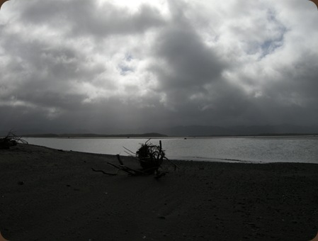 the Eel River Estuary would be wonderful if the winds weren't blowing
