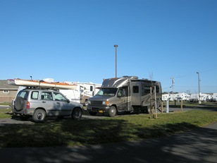 morning at Shorline RV
