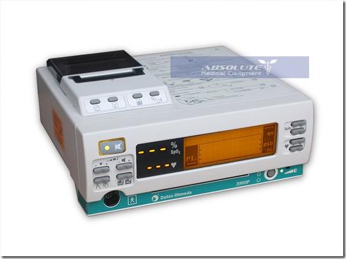 Datex Ohmeda 3900 P 3900p Pulse Oximeter W Printer
