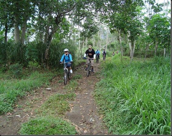 Paket wisata sepeda kaliurang 2011