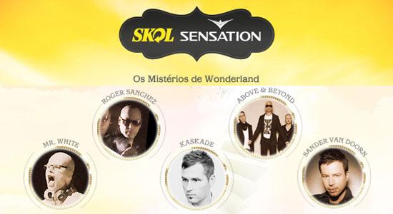 Skol Sensation 2011