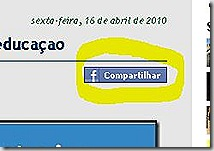 Compartilhar do facebook