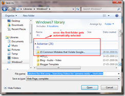 Windows 7! Libraries – A new feature…