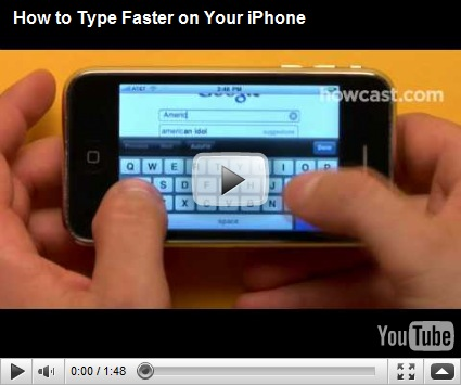 How to Type Faster on iPhone