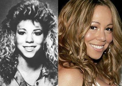 A evolução dos famosos