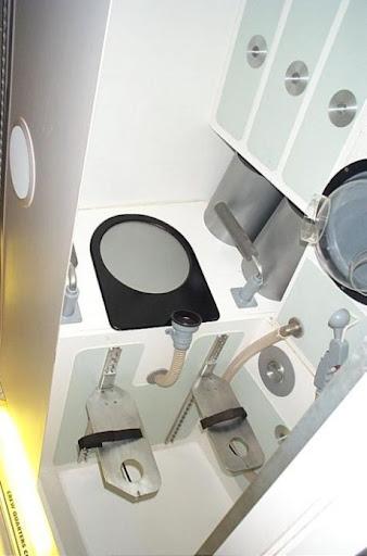 Banheiros na Estação Espacial Internacional