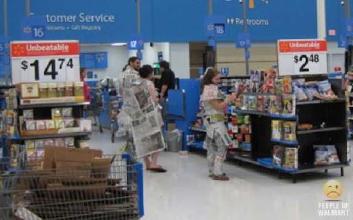 Coisas que voce so ve... no Wal-Mart - Parte 4