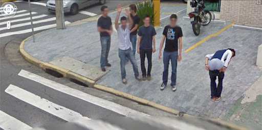 Flagras do Google Street View Brasil