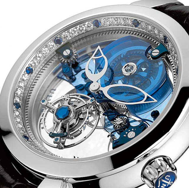 10. Ulysse Nardin - Turbilhão Azul Royal