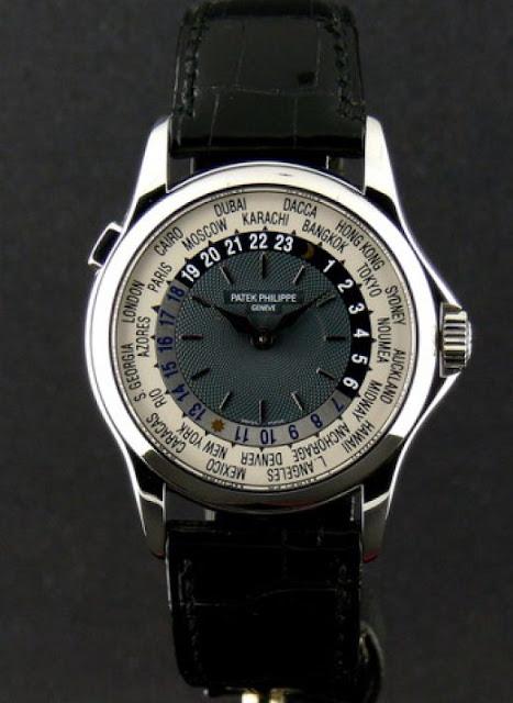 5 - Patek Philippe's Platinum World Time (4 milhões de dólares)