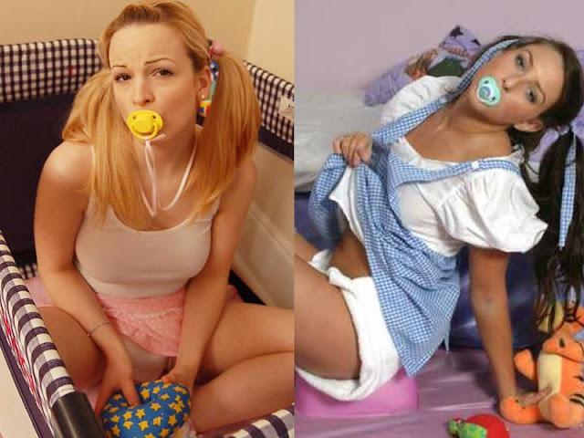 7. Autonepiofilia ou infantilismo parafílico