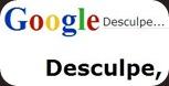 Google se desculpando pra mim, que fofo!