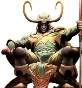 Figure Of Loki Cover