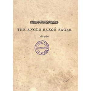 The Anglo Saxon Sagas Cover