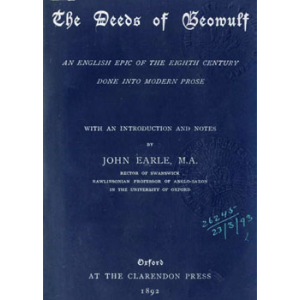 The Deeds Of Beowulf Cover